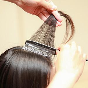 髪を綺麗に染める